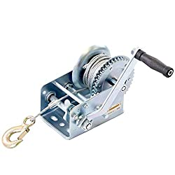Cable winch cable winch hand winch wire rope forest winch hand rope winch 1000lbs 450 kg 4 mm x 9 m