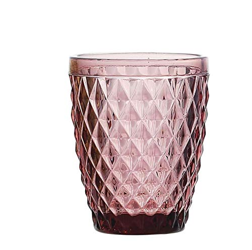 Vaso cristal Sidari 270ml - Set 6 unidades (Morado)
