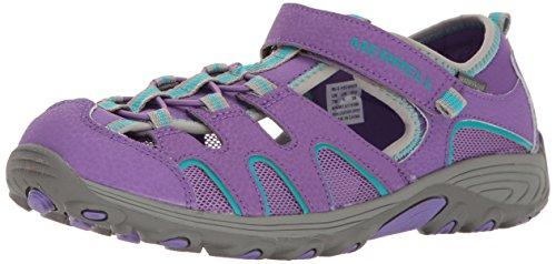 Merrell Girls' Hydro H2O Hiker Sandal Sport, Purple, 9...