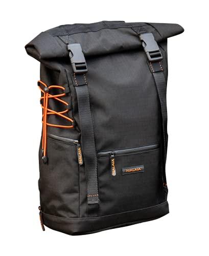 Nomad Bag L - Zaino multifunzione ultra resistente e leggero, Nero , L