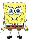 8 Inch Spongebob Squarepants Sponge Bob Removable Peel Self Stick Adhesive Vinyl Decorative Wall Decal Sticker Art Kids Room Home Decor Girl Boy Children Bedroom Nursery Baby 6 x 8 Inch