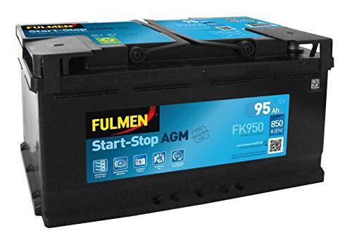 Fulmen - Batterie voiture FK950 12V 95Ah 850A - EK920 ; EK950 ; FK920 ; FK9