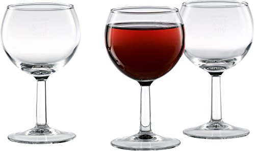 18 x 0,2 l Weinglas/Weinkelch/Beistellglas/Wasserglas/Rotweinglas, klar