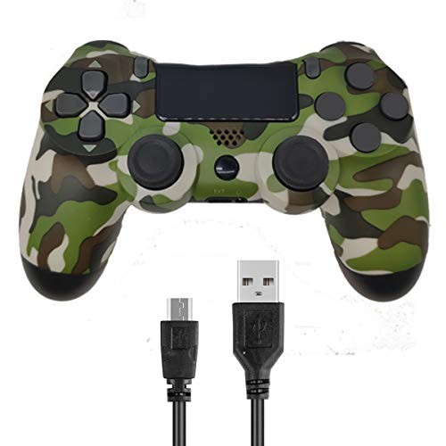 Kogoda Wireless Controllers for PS4 Playstation 4 V2 Dual Shock (Gray Camouflage)