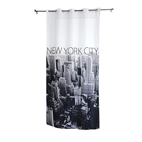 Tenda per Interni ad Occhielli Mod. NEW YORK,Stampa Digitale - Mis. 140 x 280 cm