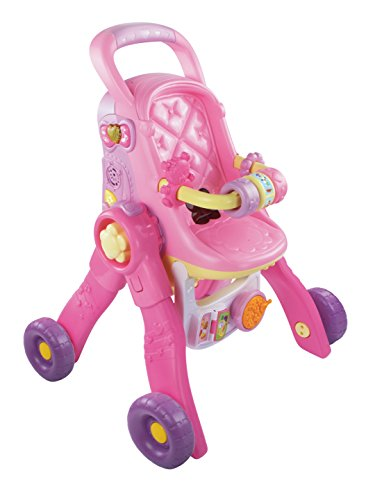 VTech 80-154104 - Little Love, 3-in-1 Magischer Puppenwagen