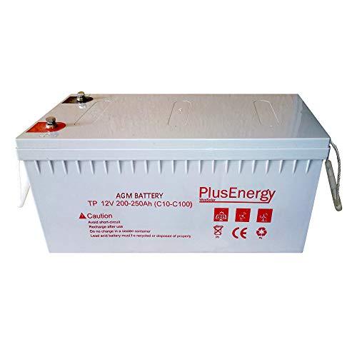 Batería AGM 12V Capacidad 150AH-200AH-250AH - Ciclos Profundos Uso Grupo solar (250AH AGM)