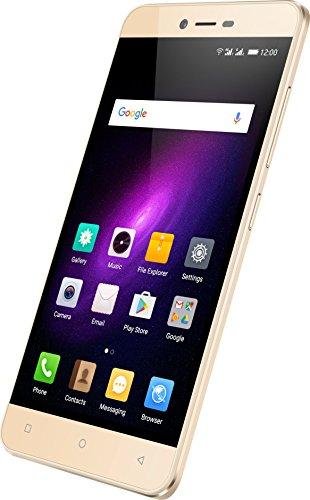 Mobistel 7365-G Cynus E8 Smartphone (16GB, 13MP Kamera, Android 6.0, 12,7 cm (5 Zoll Gold
