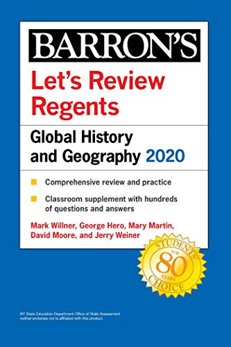 Let's Review Regents: Global History and Geography 2020 (Barron's Regents NY) (English Edition)