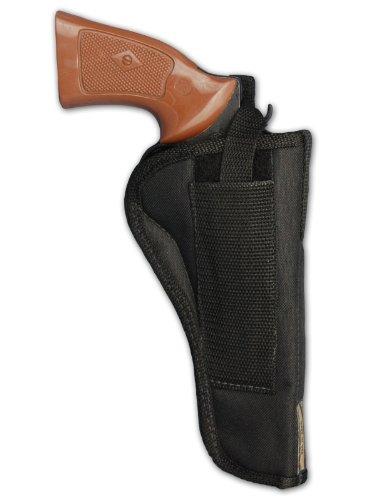 """Barsony New Revolver OWB Belt Holster for 6"""" 22 38 357 41 44 Revolvers"""