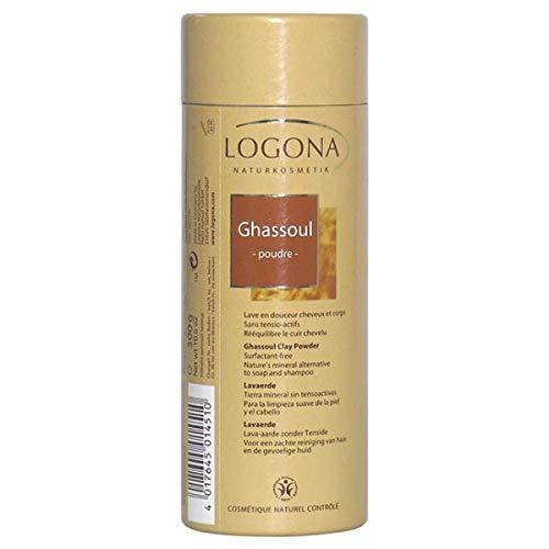 Logona - Ghassoul Poudre 300 G Bio - Lot De 3 - Vendu Par Lot - Livraison Gratuite en France
