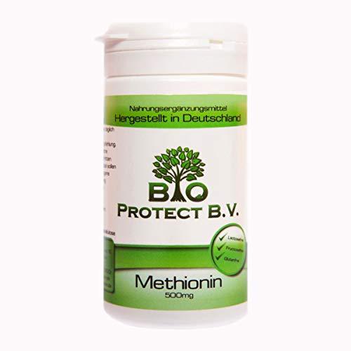 L- Methionin 500 mg - 50 Kapseln - Bio Protect