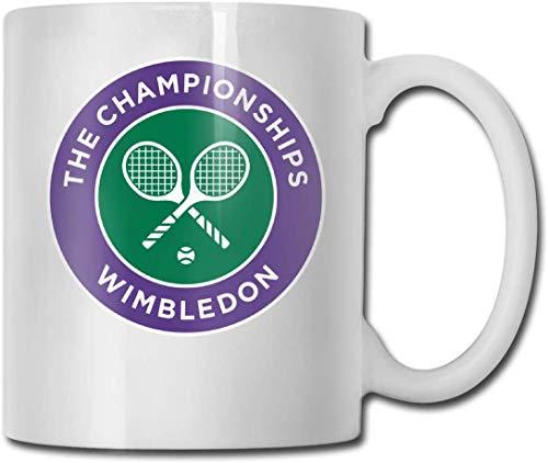 Schalen 2020 Wimbledon versendet Mode-Entwurfs-lustiges Kaffeetasse-T-Stück Schalen-Geschenk für Fan-Ehemann-Ehefrau-Freundin-Weiß