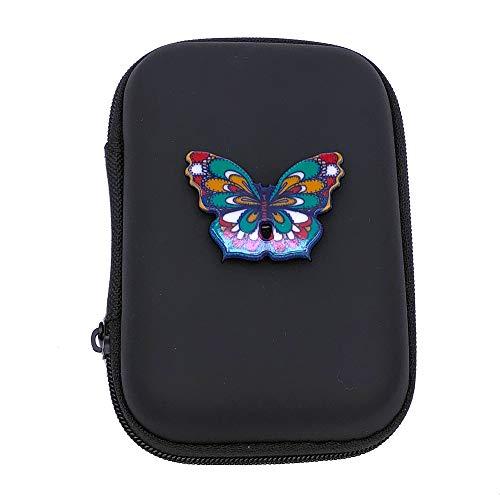 GS Golf Butterfly Mini Bag ゴルフミニバック 財布 ゴルフ用品を入れるホルダー (Black)