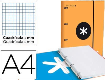 Green Liderpapel EC07 A4 Display Book with Spiral