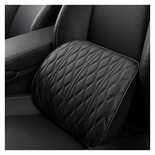Almohada para el cuello del coche Pasos de reposacabezas de coche de espuma de memoria Ajuste automático Ajuste de cuero Soporte de asiento de cuero conjuntos de cuello trasero de reposo almohadas lum