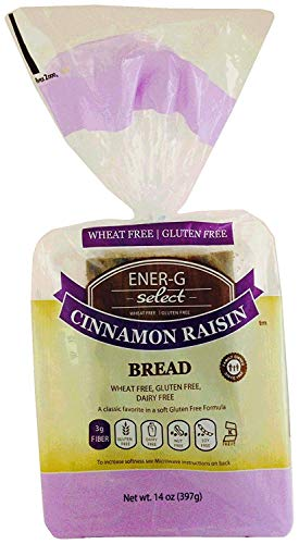 ENER-G FOODS   Bread-Cinnamon Raisin - 14 Oz [Gluten Free] [New Item!] [1 Pack]