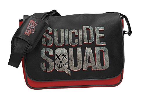 SD toys - Sac Besace Suicide Squad - Suicide Squad Logo 36 x 25cm - 8436535274401