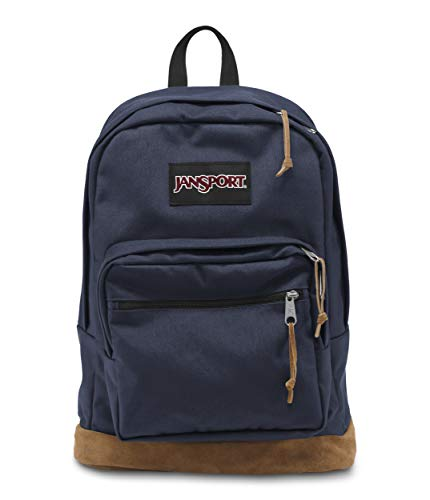 JanSport Right Pack 15 Inch Laptop Backpack - Any Occasion Daypack, Navy