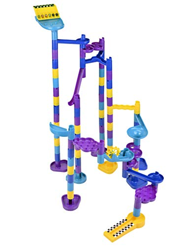 Discovery Toys Marbleworks Deluxe Marble Run | Kid-Powered Learning | STEM Educational Building Block Toy Learning & Childhood Development 5 Years Old and Up