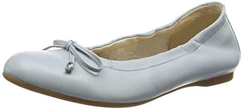 Gabor Shoes Damen Geschlossen Ballerinas Geschlossene Ballerinas, Gabor , Gr. 40.5 (UK: 7), Blau (26 sky)
