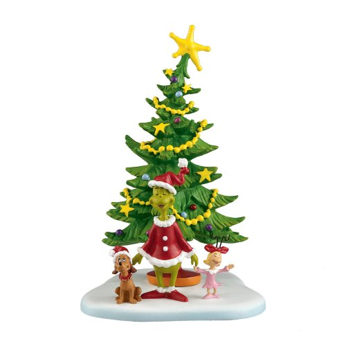 Department 56 Grinch Villages Welcome Christmas Day Accessory Figurine, 5.625 inch (4024836)