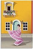 DCPPCPD Lienzo De Impresión 30 * 50cm Sin Marco Cartel de Ciudad Heroica Cartagena Pintura Decorativa para Sala de Estar y Dormitorio