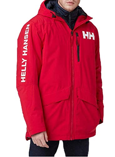 Helly Hansen Active Fall 2 Parka, Giacca Uomo, Colore: Rosso, XXL