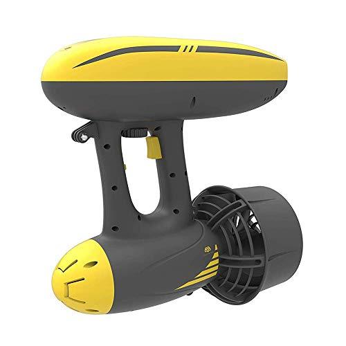 Seascooter WTZ012 - Patinete de agua (50 m, 4 mph), 3 soportes para cámara para buceo, buceo y aventuras (dos estilos)