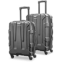 Samsonite Centric Hardside Expandable Luggage With Spinner Wheels (Black)