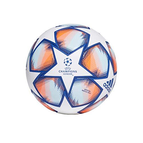 adidas Unisex– Erwachsene Fin 20 Pro Fußball, White/ROYBLU/SIGCOR/S, 5