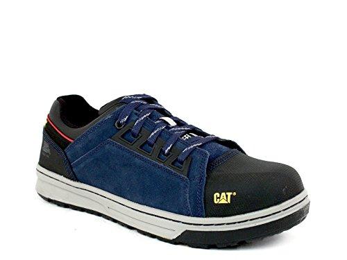 Caterpillar Mens Concave Lo Steel Toe Dark Navy Sneaker 10.5 D (M)