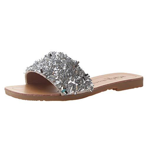 tongs Sandales plates tongs chausson chaussette reef aqualung mule confort chaussons sabot 32 plastique enfant chausson fille sabot(argent,38)