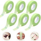 SUNSK Ciglia Estensione Nastro Medicale Adesivi per Extension Ciglia Sotto Occhi Verde Strumenti per Ciglia Accessori di Bellezza 6 Rotoli