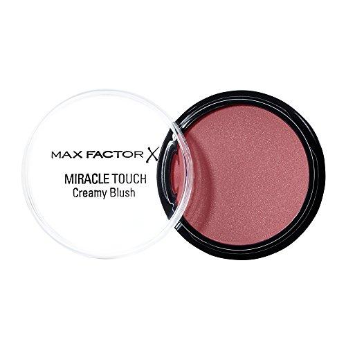 Max Factor Miracle Touch Creamy Blush Soft Murano 9 – Rouge aus einer cremigen Textur – Für einen natürlich frischen Look – Farbe Rosa-Rot – 1 x 12 ml