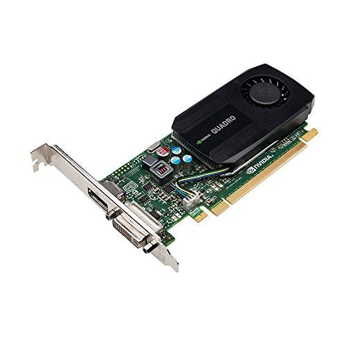 PNY NVIDIA QUADRO K600 professionelle Grafikkarte 1 GB GDDR3 PCI-Express Low Profile DP + DVI, VGA (VCQK600-PB)