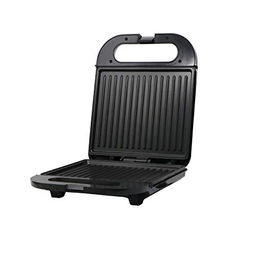 LY-JFSZ Sandwicheras, Tostadora Doméstica Máquina De Filete Desayunador De Acero Inoxidable Negro