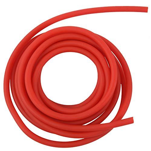 Cobeky - Fascia di resistenza in gomma per esercitazione, catapulta Dub Fionda elastica, 2,5 m, colore: Rosso