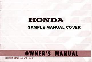 3195000 1976 Honda FL250 Odyssey Owners Manual
