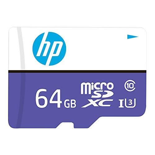 memoria micro sd de 64 gb clase 10 fabricante HP