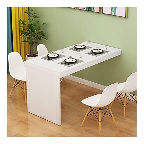 Platzsparender Klapptisch-Wandklapptisch aus Melamin Brett Multifunktions-Desk Startseite Schreibtisch-Computer (Size : 100 * 40 * 75cm)