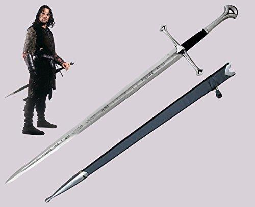 Anduril Spada Aragorn Narsil Il Signore degli Anelli
