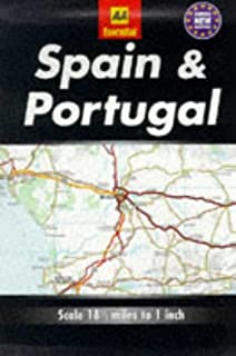Essential Road Map Spain and Portugal
