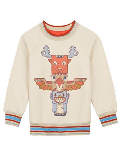 Oilily Beiger Pullover für Jungen YF18BHJ502