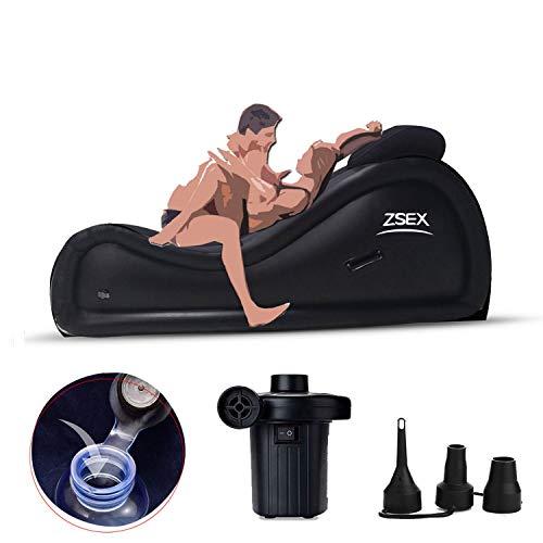 CLOOTE Inflable Sofá Multifuncional portátil Almohadilla del Amortiguador de Muebles inflables for los más Profundo de Muebles Impermeable penatration