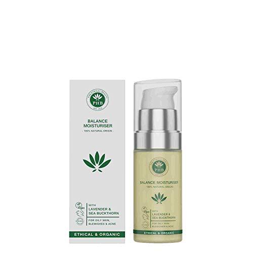 Phb Ethical Beauty Moisturisers Balance Moisturiser Creme Vette Huid/acne 20ml