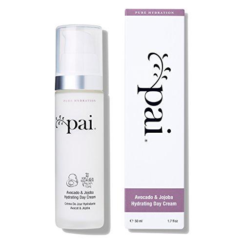 Pai Skincare Avocado & Jojoba Feuchtigkeitsspendende Tagescreme Feuchtigkeitspflege für Trockene und Sensible Haut - 50 ml