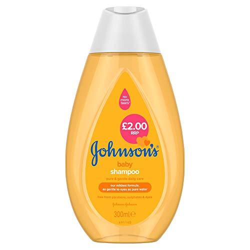 Johnson's Baby Shampoo 300ml (Pack of 6)