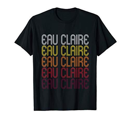 Eau Claire, WI | Vintage Style Wisconsin T-shirt