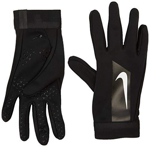 Nike unisex jungend Academy Hyperwarm Handschuh, Schwarz/Weiß, L